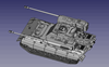 Picture of Fist of War series German E-50 ausf.A Buffelkopf